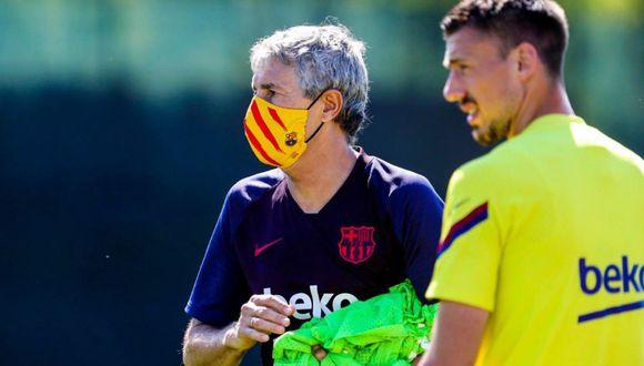 Barcelona lanzó a la venta sus mascarillas personalizadas el último mundo. (FC Barcelona)
