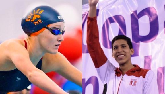 McKenna DeBever y Joaquín Vargas irán a Tokio 2020 para participar en la disciplina de natación. (Foto: IPD)