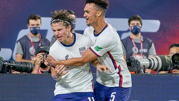 Estados Unidos vs. Honduras se vieron las caras este miércoles por las Eliminatorias a Qatar 2022 (Foto: Getty Images).