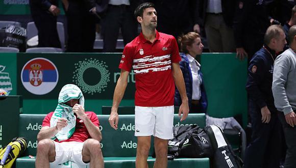 Serbia cayó por cuarta vez en la historia ante Rusia en seis partidos de Copa Davis. (Getty Images)
