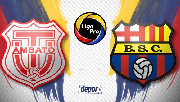 Vía Gol TV: Barcelona SC vs. Técnico Universitario EN VIVO por la Liga Pro de Ecuador 2020 desde Ambato