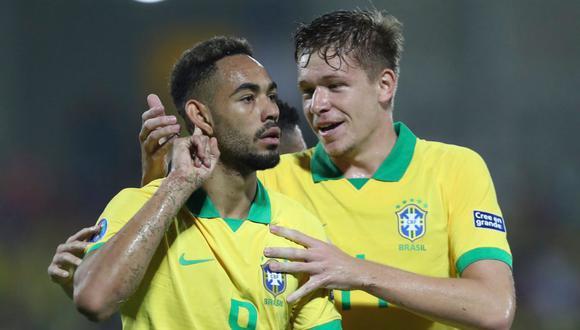 Argentina cayó 3-0 ante Brasil, que logró clasificarse a Tokio 2020