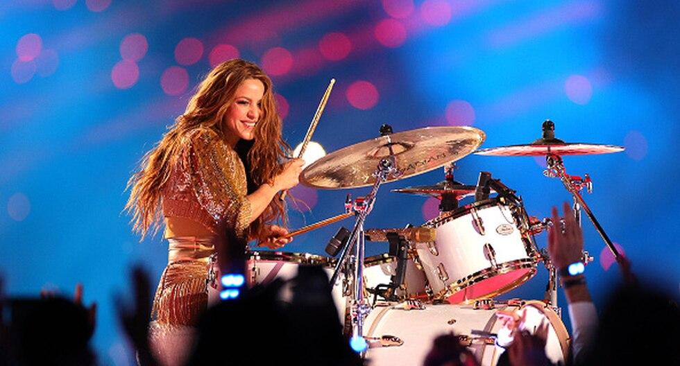 Así fue el espectáculo de Shakira y Jennifer López (JLO) en el Half Time Show. (Foto: Getty)