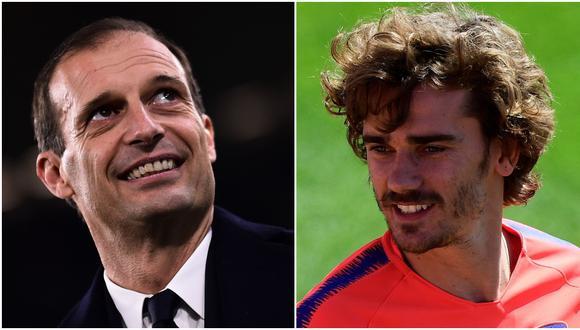 Allegri dejará la Juventus en el mercado de fichajes de verano luego de cinco temporadas. (AFP)