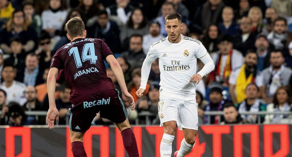 Eden Hazard - Real Madrid - lesión en el tobillo. (Agencias)