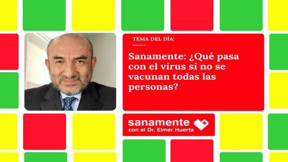 Sanamiente: Cosa succede al virus se non tutte le persone vengono vaccinate?