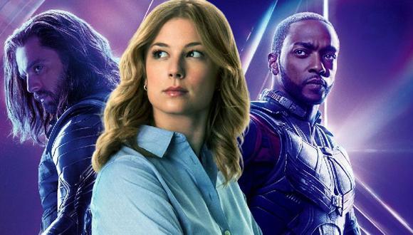 """""""The Falcon and the Winter Soldier"""": Sharon Carter al descubierto gracias a los subtítulos. (Foto: Marvel)"""