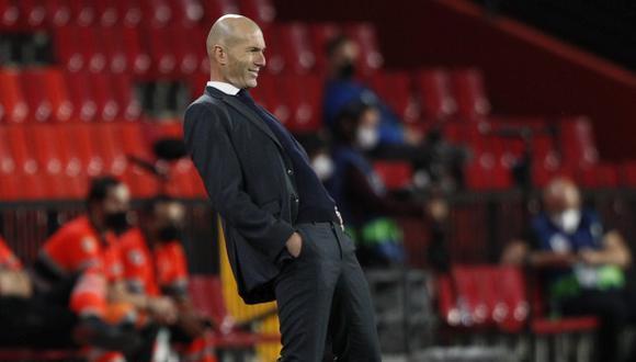 Zidane descartó una comunicación con los jugadores para adelantar que deja Real Madrid. (Foto: AP)