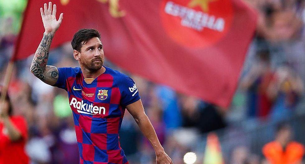 Lionel Messi tiene contrato en el FC Barcelona hasta junio de 2021. (Getty)
