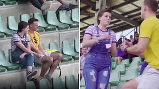 Viral: Joven sorprende a enamorada con espectacular propuesta de matrimonio