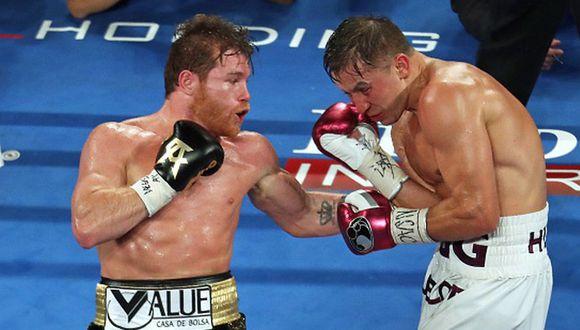 'Canelo' Álvarez y Gennady Golovkin volverían a pelear el 12 de septiembre. (Getty Images)