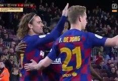¿Necesitan un '9′? Aquí estoy yo: Antoine Griezmann sorprende y sentencia el 1-0 del Barcelona ante Leganés por Copa del Rey