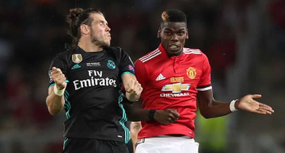 Bale y Pogba podría intercambiar camisetas para enero. (Getty Images)
