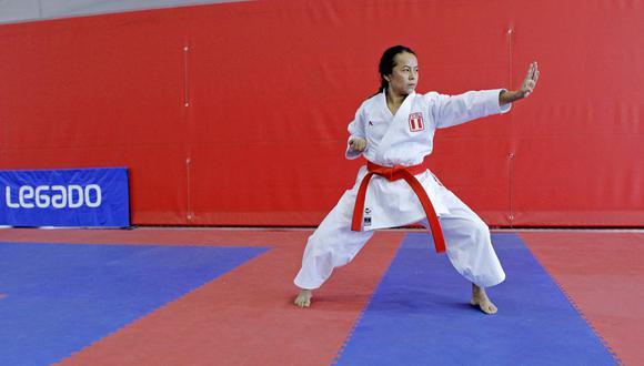 Ingrid Aranda se alista para viajar a Portugal y pelear por un cupo a Tokio 2020. (Foto: Legado)