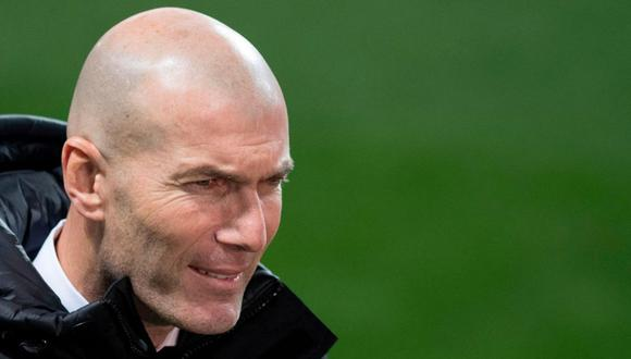 Zinedine Zidane regresó al Real Madrid en el 2019. (Foto: AFP)