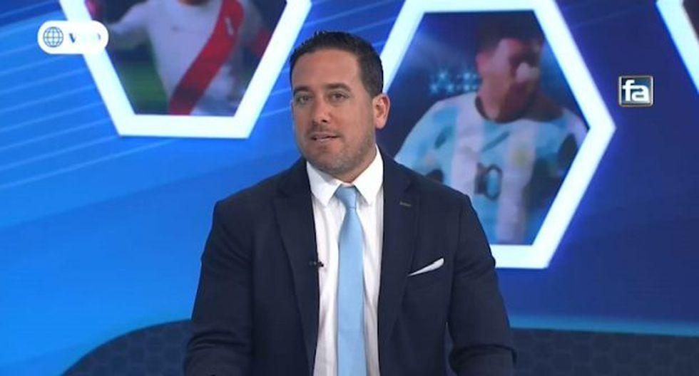 Óscar Del Portal señaló a Ángel Comizzo como responsable de la derrota de Universitario. (Video: América TV)