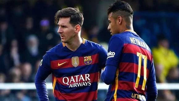 Messi y Neymar jugaron juntos en el Barcelona hasta mediados de 2017. (Foto: Getty Images)