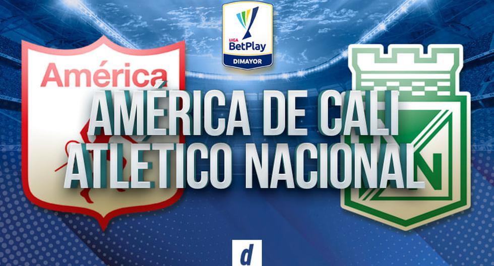 América de Cali vs. Atlético Nacional EN VIVO vía Win Sports: se ven las caras por la Liga BetPlay 2021