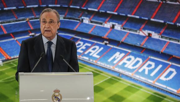 Florentino Pérez lleva más de un año y medio sin gastar en fichajes. (Foto: AP)