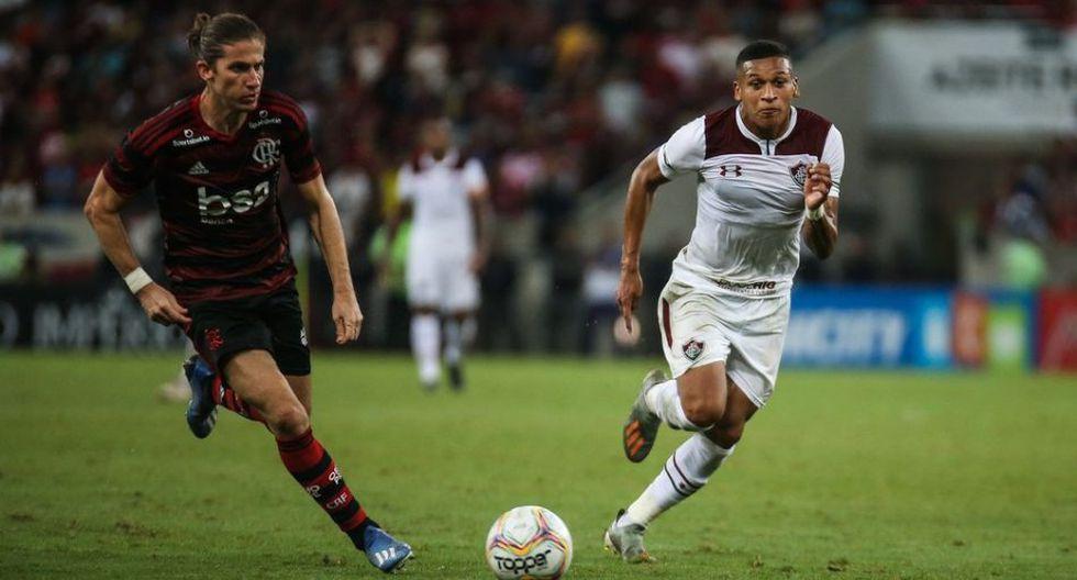 Fernando Pacheco llegó a Fluminense procedente de Sporting Cristal. (Globoesporte)