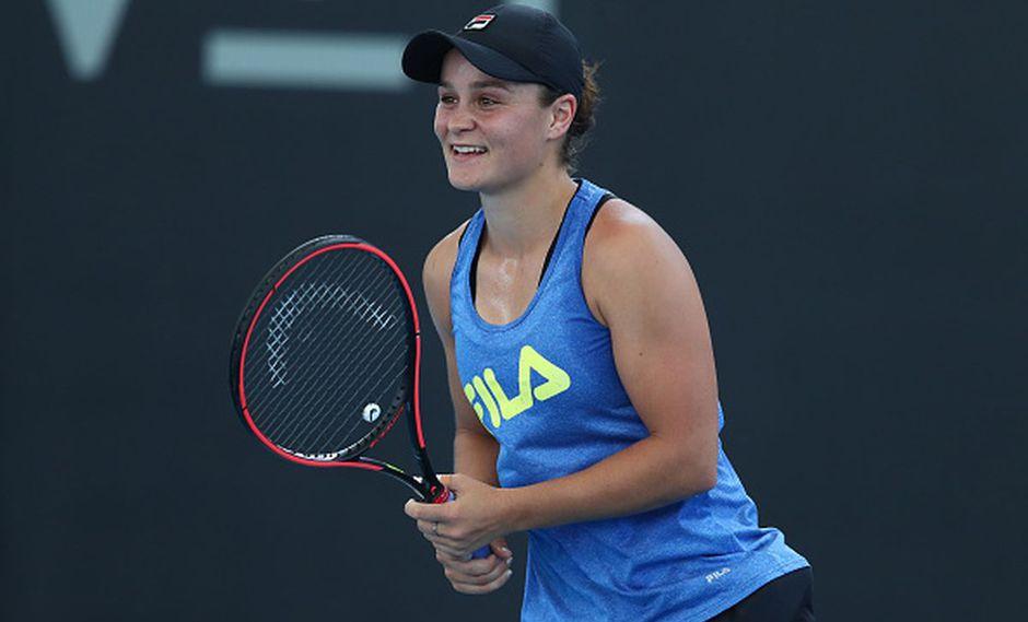 Ashleigh Barty encabeza en ranking mundial con 7851 puntos. (Foto: Getty Images)