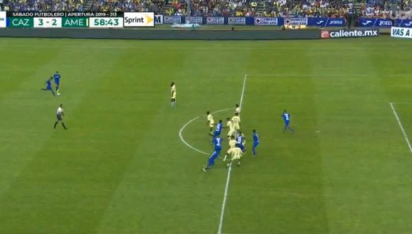 Yoshimar Yotun se lució con un gran pase gol para el 4-2 de Roberto Alvarado en el Cruz Azul vs América.