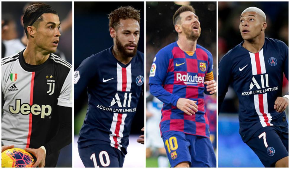 Resto del Mundo: Messi | Cristiano Ronaldo | Solo Neymar, De Bruyne y Oblak  repiten en | NOTICIAS DEPOR PERÚ