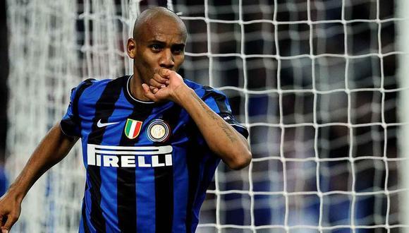 Maicon, ganador de todo con el Inter de Milán, jugará en la cuarta categoría de Italia. (Foto: AFP)