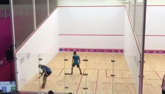 Ya lo conoce: así juega Rodrigo Porras, rival que Diego Elías enfrentará en la ronda 16 de Squash en la Videna
