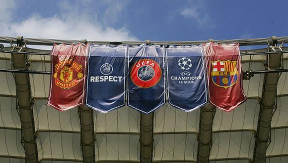 Barcelona venció 1-0 a Manchester United en la ida de cuartos de Champions League. (Getty)