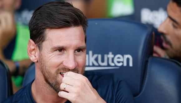 Lionel Messi debutó con el FC Barcelona en 2003, en un amistoso ante el Porto. (Getty)