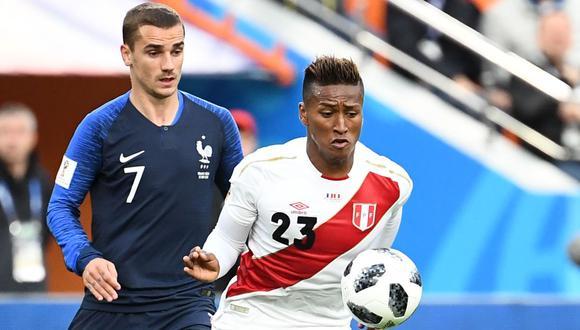 Perú y Francia se enfrentaron en la segunda fecha del Grupo C del Mundial.