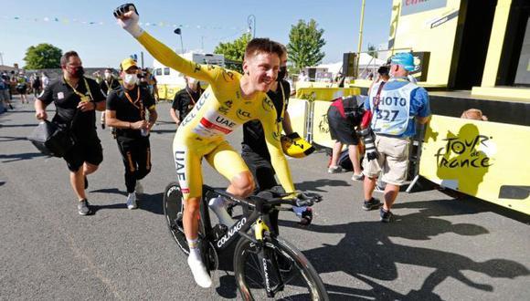 Culmina un nuevo año del Tour de Francia en el recorrido rumbo a Campos Eliseos. (Foto: Tour de France)