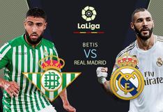 Real Madrid vs. Real Betis EN VIVO por DIRECTV Sports: minuto a minuto por LaLiga Santander