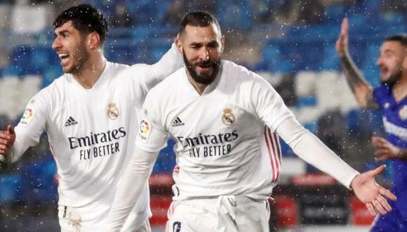 Real Madrid vs. Getafe (2-0): ver goles, resumen y mejores jugadas del  partido por LaLiga Santander | video gol de Benzema | FUTBOL-INTERNACIONAL  | DEPOR
