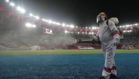 El presidente de Brasil, Jair Bolsonaro, espera que los partidos del próximo año se jueguen con público. (Foto: Getty Images)