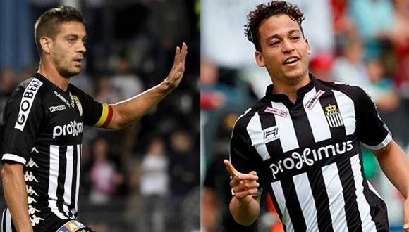 Javi Martos y Cristian Benavente compartieron vestuario durante cuatro temporadas en Royal Charleroi. (Foto: Agencias)