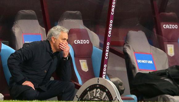 Jose Mourinho fue despedido del Tottenham por malos resultados en la Premier League. (Getty)