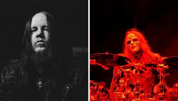 Slipknot compartió una imagen en negro en símbolo de duelo.  (Foto: (Foto: Instagram @thejoyjordison / Steve C. Mitchell EFE)