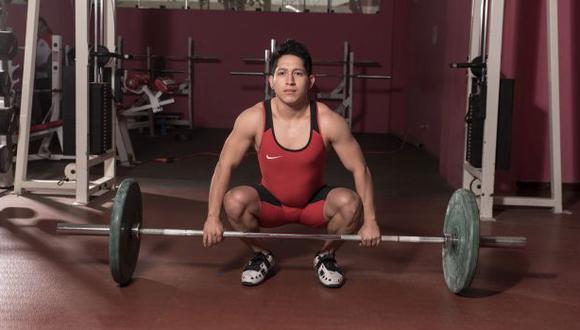 Pesista Marcos Rojas se sumó a delegación olímpica peruana para Tokio 2020. (IPD)