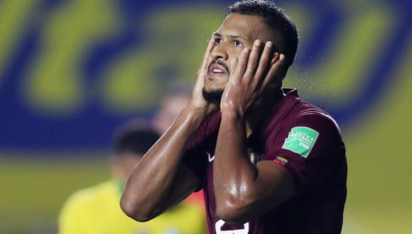 Salomón Rondón es el máximo goleador de la historia de Venezuela. (Foto: Agencias)