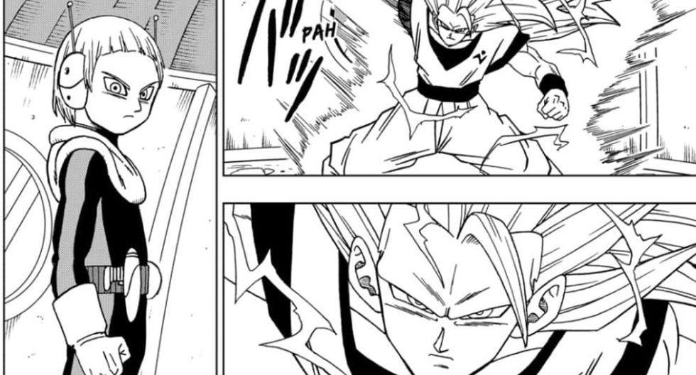 Goku Super Saiyajin 3 en Dragon Ball Super (Toyotaro)