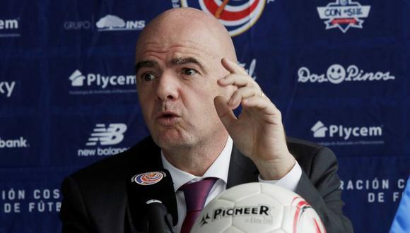 Gianni Infantino se pronuncia frente a las posturas de la Premier League y LaLiga. (Foto: Reuters)