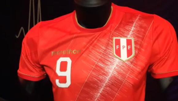 La Selección Peruana conoció su nueva camiseta edición especial. (Captura)