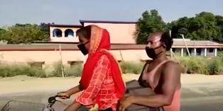 India: Adolescente recorrió 1.200 km en bicicleta con su padre herido: la llamaron de la selección de ciclismo