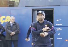 Lionel Messi se aleja del Barcelona de España