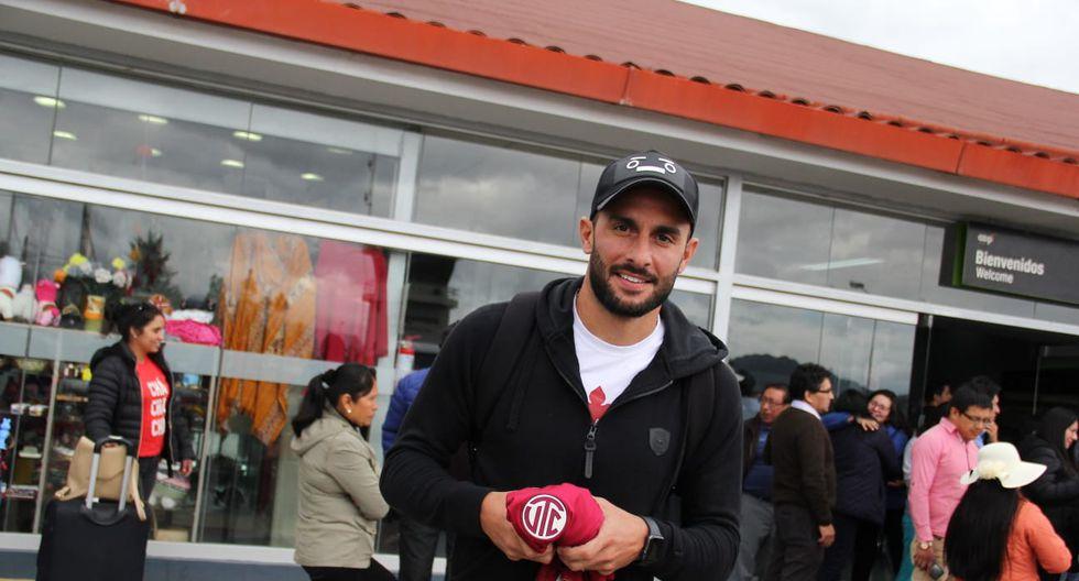 Mauro Guevgeozián llegó a Cajamarca esta tarde. (Foto: Luis Padilla)