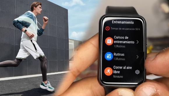 ¿Qué tal son las rutinas del Huawei Watch Fit? Echa un vistazo a este review