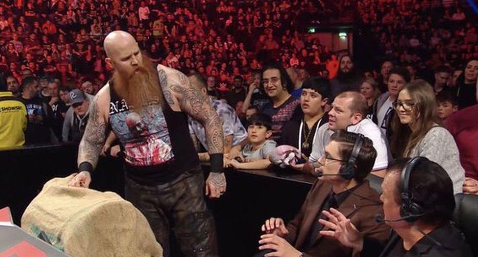 Erick Rowan venció a Soner Dursum. (Foto: WWE)