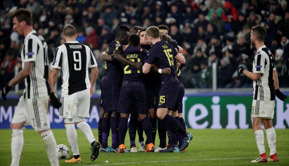 Las mejores imágenes del Juventus vs. Tottenham por Champions League. (Foto: AFP / Reuters)
